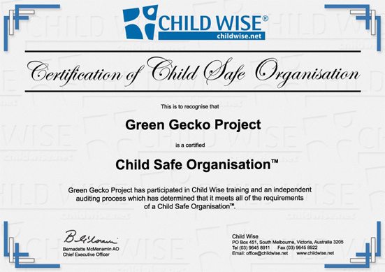 Child Wise | Certification of Child Safe Organisation